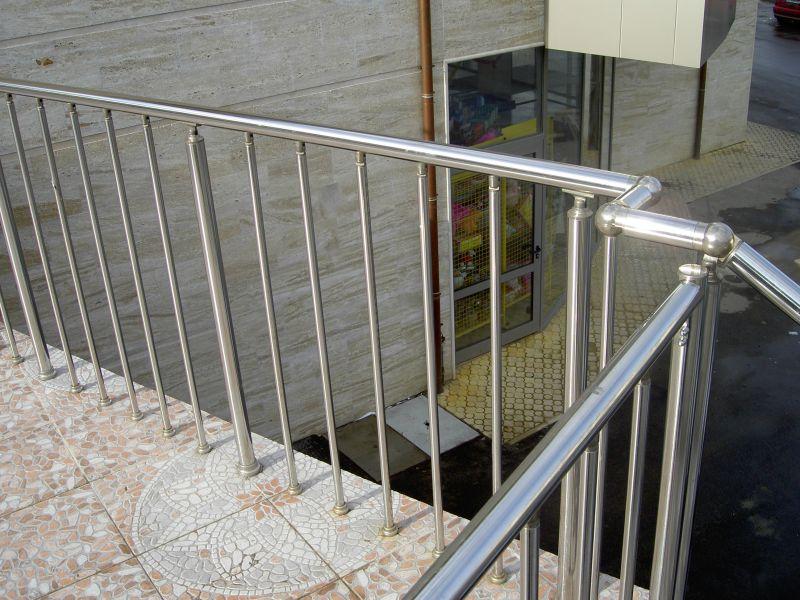 Балконы из нержавеющей стали антиас-м.